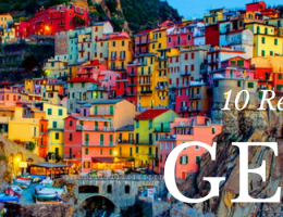 10 reasons to visit and study in Genoa.