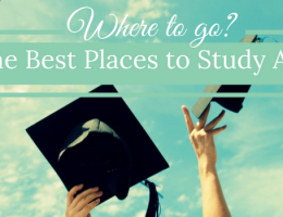 15 of the Best Places to Study Abroad.