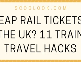 CHEAP RAIL TICKETS IN THE UK?   11 TRAIN TRAVEL HACKS