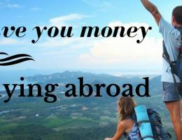Hacks to save you money while studying abroad