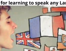 How to speak a new language fluently faster