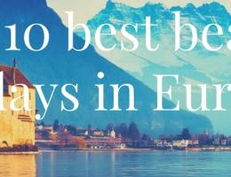 The 10 best beach holidays in Europe