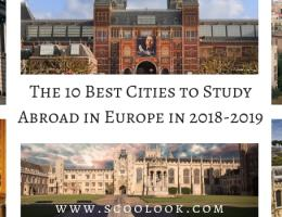 The 10 Best Cities to Study Abroad in Europe in 2018-2019
