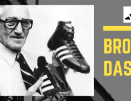 The brothers Dassler's feud