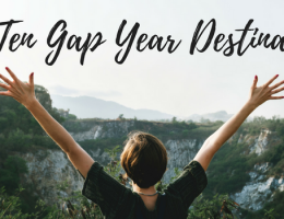 Top Ten Gap Year Destinations