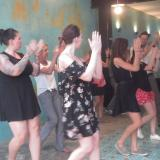 Salsa class in La Calle Spanish school
